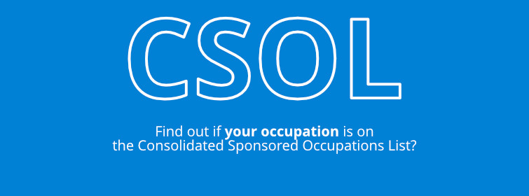 Consolidated Sponsored Occupations List Banner